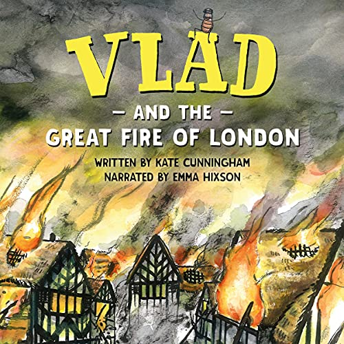 Vlad and the Great Fire of London cover art