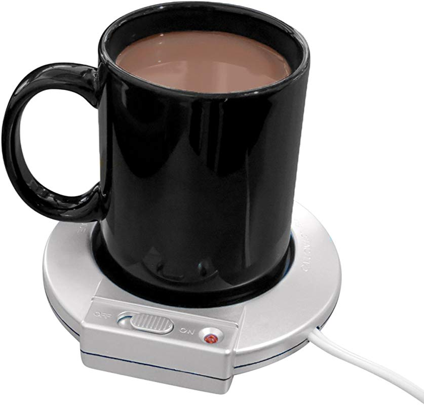 Evelots Electric Mug Warmer Heater Keep Beverages Warm At Home Office Single