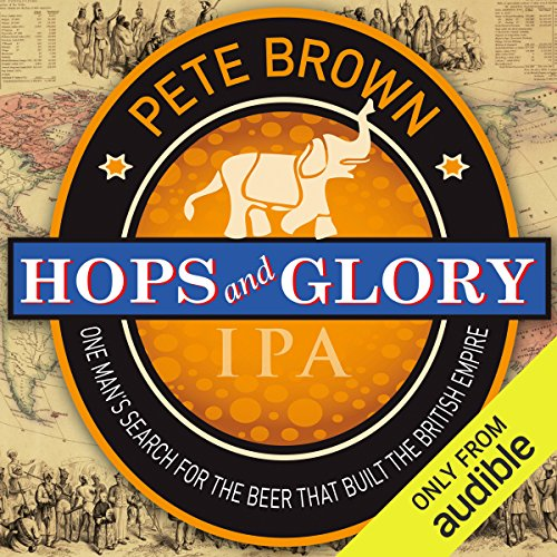 Hops and Glory audiobook cover art