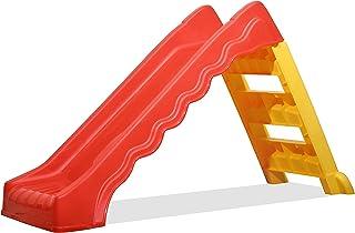 Kreher Foldable Slide 'Magic' for Boys & Girls! Plastic Slide for Home, Balcony and Garden for Kids. Dimensions 124 x 46 x...