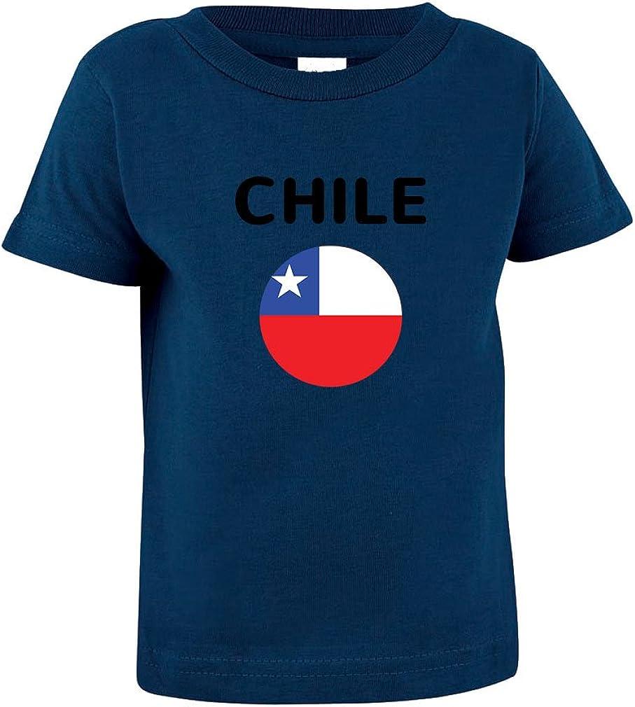 Chile Flag Toddler Baby Kid T-Shirt Tee