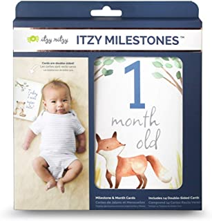 Best baby milestone cards funny Reviews