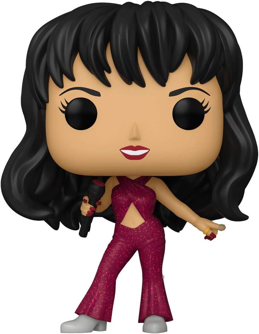 Amazon.com: Funko Pop! Rocks: Selena (Borgoña), 3.5 in : Juguetes y Juegos