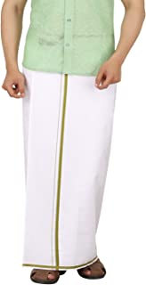 Prakasam Cotton Mens White cotton Dhoti