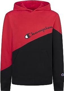 Champion Heritage Kids Cotton Sweatshirt Fashion Pull On Crew Neck Unisex Hoody