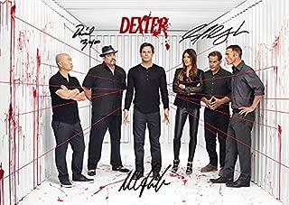 Dexter (11.7 X 8.3) Season 8 Tv Print Michael C. Hall Jennifer Carpenter David Zayas