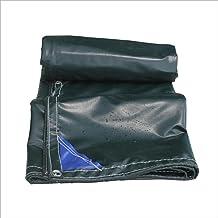 Yxsd dubbel waterdicht dekzeil zeil zeil groen zware dekzeil outdoor camping schaduw cover - 100% waterdicht en UV-bescher...