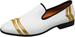 Chaussures pour Hommes Cuir Slip on Mocassin Brogue Casual Business Party Mariage Chaussure Mode Loafers Slippers Pantoufl...