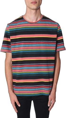 PS by Paul Smith Homme M2R051SA2060879 MultiCouleure Coton T-Shirt