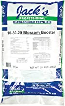 JR Peters 77160 Blossom Booster 10-30-20 Fertilizer, 25-Pound