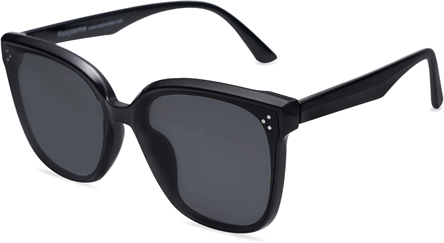 SOJOS Retro Oversized Square Cateye Sunglasses Women low-pricing Raleigh Mall for Butterf