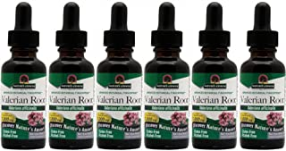 Nature's Answer Valerian Root Alcohol Free, 1 Ounces each (Value Pack of 6)