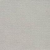 Zweigart 3326.705 - Tela da ricamo Aida grigia, 8 ps/cm, 50 x 55 cm