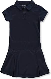 Nautica Kids Girl's Pleated Performance Dress (Big Kids)