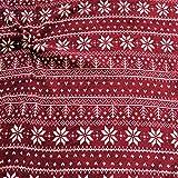 STOFFKONTOR Wellness Fleece Stoff Winter Norweger Style