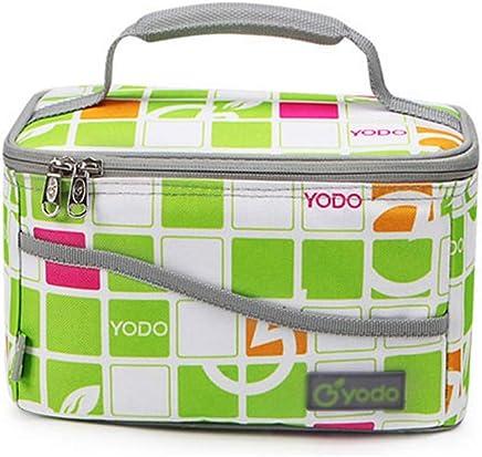 BFQY FH Outdoor Picknick Tasche, Aluminiumfolie Lunchpaket Verdickung Verdickung Verdickung Isolationspaket 4L Kapazität Tragbare Frischhaltetasche, 23 × 15 × 15 cm (Farbe   Grün) B07NMHWRPT   Kaufen Sie online  d0027b