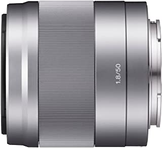 Sony SEL50F18 E Mount - APS-C 50mm F1.8 Prime Lens (Silver)