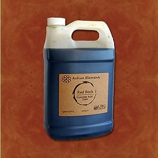 Concrete Acid Stain Stain Colors for Concrete Red Rock (Red, Orange, Terra Cotta) 1 Gallon