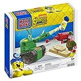Mega Bloks Jouet–Bob l'éponge Movie–Pickle Tank Attack Playset–Plancton Patrick Figure