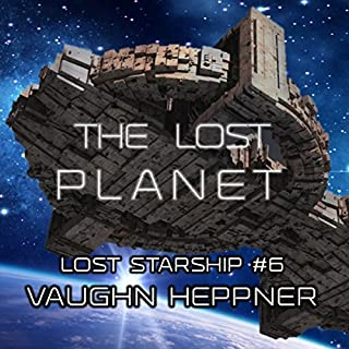 The Lost Planet audiobook cover art