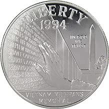 1994 P $1 Vietnam Veterans Commemorative Silver Dollar US Coin Choice Proof