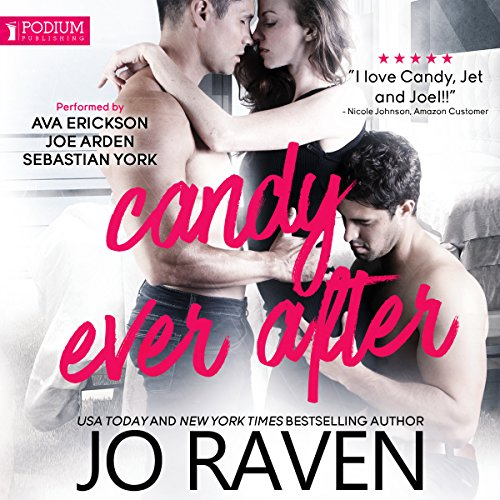 Candy Ever After audiobook cover art