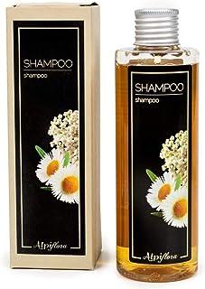 Alpiflora Shampoo Naturale 200 ml per capelli a base di estratti di Achillea, Camomilla, Stella Alpina e Calendola.