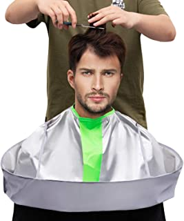 Xbes professional Hair Cutting Cape Umbrella Cloak Hair Catcher for Adult Barber Hairdressing Kit