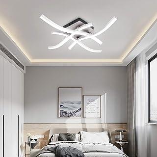 AUA Plafones led, Plafon Techo Modernos para Iluminación Interior 1440 Lúmenes 6000K 24W para el Dormitorio de la Sala de Estar