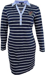 Tommy Hilfiger Women's Striped Shirtdress