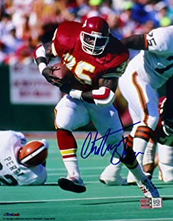 Christian Okoye Signed Autographed Kansas City Chiefs 8x10 Photo TRISTAR COA