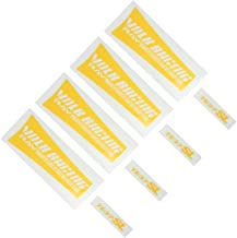 4 PCS RAYS VOLK te37SL Car wheels sticker Valve sticker Decal Compatible with 17-19 inches wheels (Yellow)
