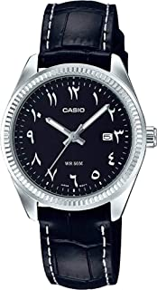 Casio Casual Watch Analog Display For Women Ltp-1302L-1B3Vdf, Black Band
