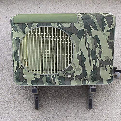 voloki - Cubierta de aire acondicionado exterior, impermeable, resistente al polvo, protección de alto rendimiento para el hogar (78 × 55 × 28 cm) para sala.