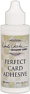 Ranger WVA62134 Wendy Vecchi Perfect Card Adhesive 2oz Fine Tip Applicator, Multi