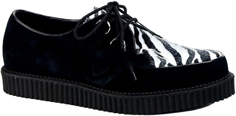 Demonia creeper-600 - Gothic Punk Industrial Punk Industrial Creeper shoes 3,5-12