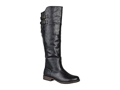 Journee Collection Tori Boot (Black) Women