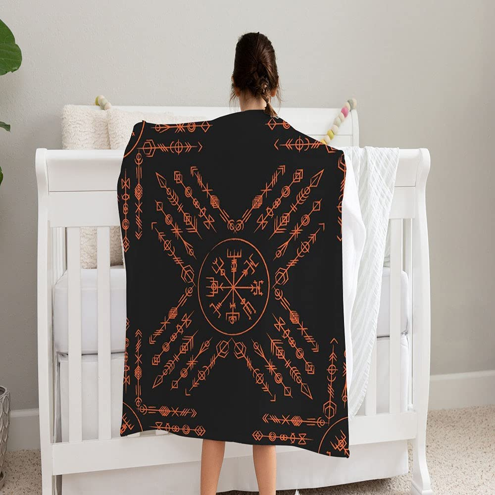 LPVLUX Outline Straight Max 83% OFF Grunge Old Su Geometric Ancient Blanket Sale Special Price