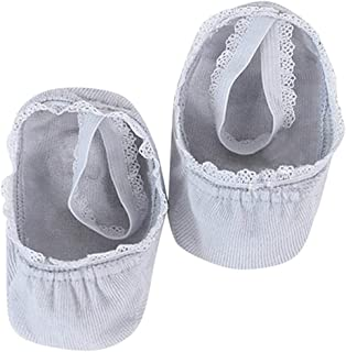 Dolloress Lace Pattern Baby Ankle Socks with Anti Slip Bottom and Lace Strap Breathable for Newborn Baby Boys Girls Toddlers for Kids 1 to 8 Years 3 Sizes for You to Choose