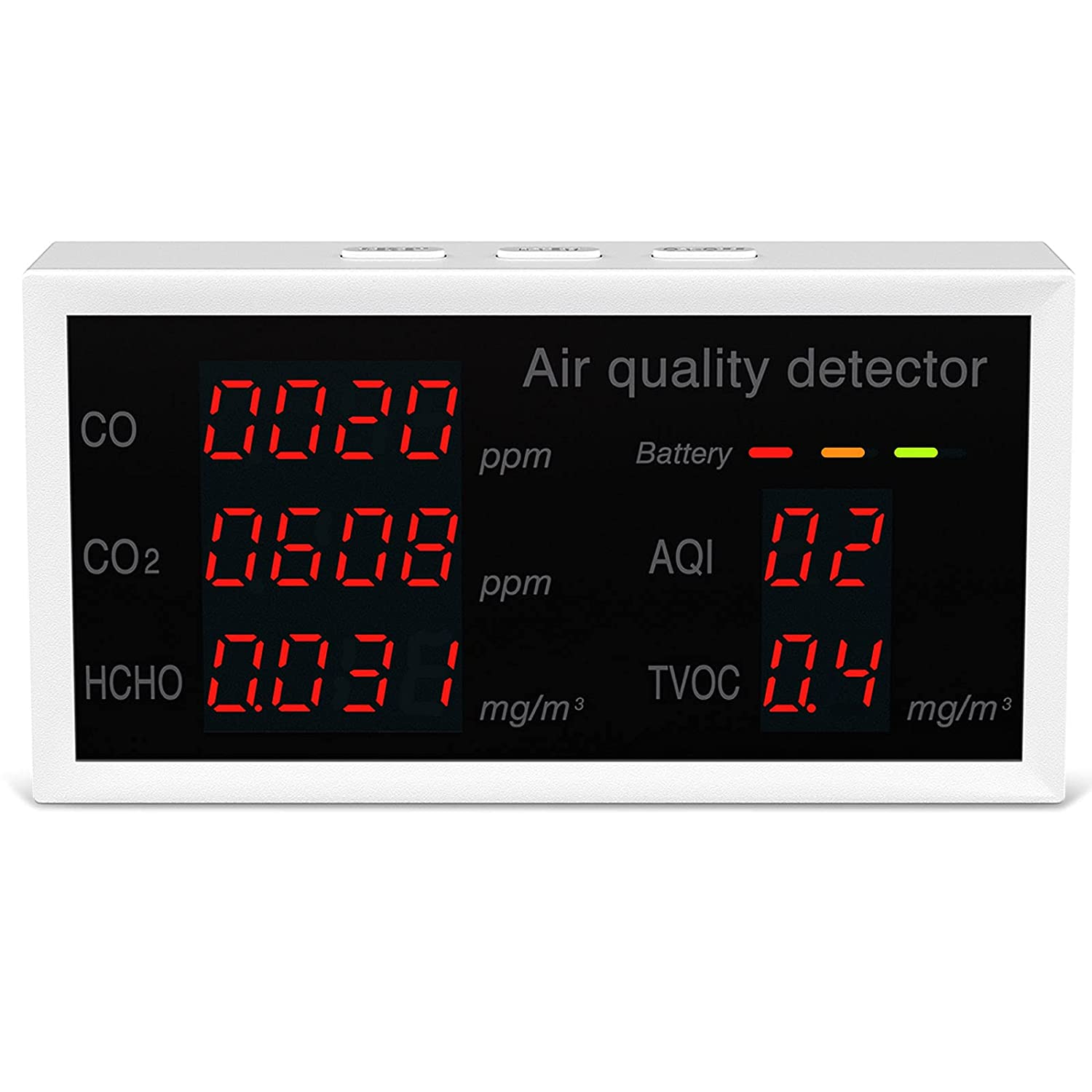 Air Quality Monitor Max 43% OFF Home Tester CO CO2 for T HCHO ! Super beauty product restock quality top!