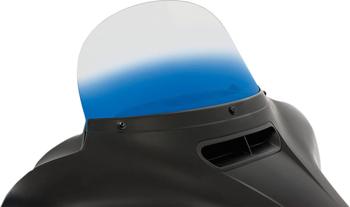 Memphis Shades MEP8176 Blue 安い Windshield 世界の人気ブランド For Replacement Baggers