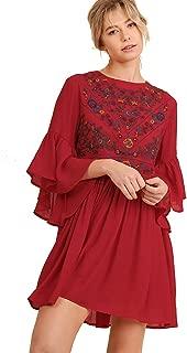 Best red boho dress Reviews