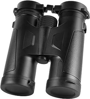 Hoyxel Professional 10x42 Fernglas, EG25 Fernglas Fernrohr mit BAK4 Prismenlinse Große Vision für Vogelbeobachtung Reisen Jagd Konzert Sport Schwarz