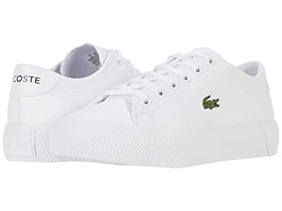 Lacoste Kids Gripshot 0120 2 CUJ (Little Kid/Big Kid) (White/White) Kid