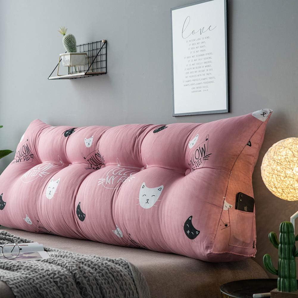 39x20x8inch DENG/&JQ Leseunterst/ützung Kissen,komfortable Atmungsaktive Bett Keil Kissen Kissen,Sofa Bett B/üro Stuhl Rest Kissen A 100x50x20cm