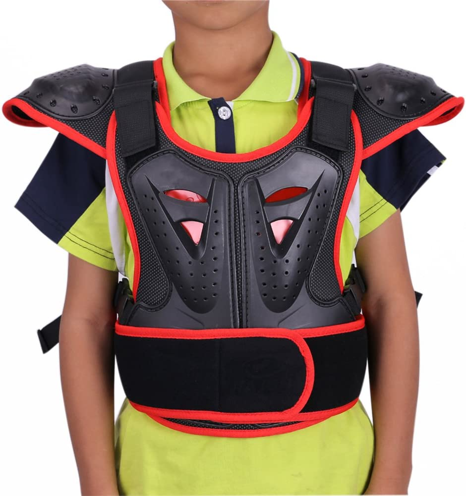 WINGOFFLY Denver Max 90% OFF Mall Kids Chest Spine Protector Body Vest Protective Armor