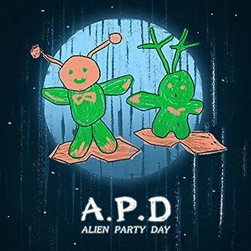 A. P. D. Alien Party Day