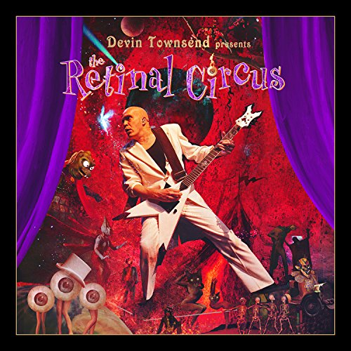 Devin Townsend - The Retinal Circus (Limited Edition, 5 Discs) [Blu-ray, DVD, CD]