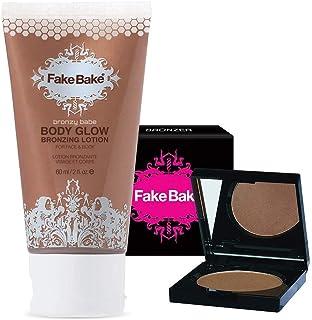 Fake Bake Body Glow with Bronzing Compact