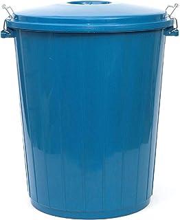 PAMEX - Cubo de Basura 50L Colores (Azul)